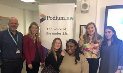 Podium.me and News-Decoder event at LSBU