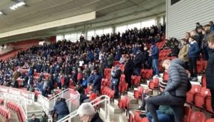 Fans at a Stadium