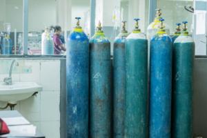 Oxygen bottle image